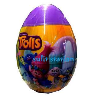 TROLLS PARTY SURPRISE EGG FAVOR ITEMS SOUVENIRS GIVEAWAYS toy figures