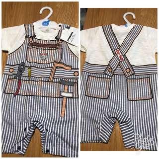 全新日本西松屋衫仔 (size 80) baby boy clothes from japan