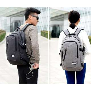 FLYMEI Laptop Backpack With USB Charging Port