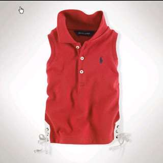 Brand New Authentic Ralph Lauren Sleeveless Top (12M)