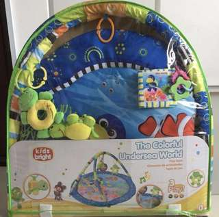 Kids Bright Undersea Baby Play Gym