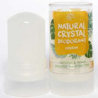 NATURAL CRYSTAL DEODORANT - Stick 120 gr