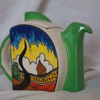 Blue Tree Cottage Designer Teapot