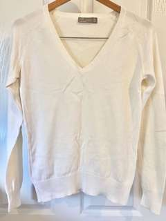 Zara White Long Sleeve