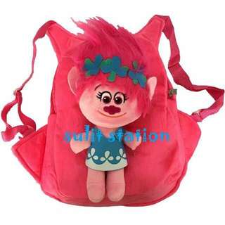 TROLLS POPPY 3D PLUSH BACKPACK KIDS BAG