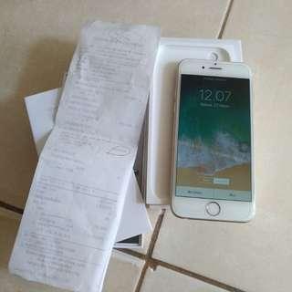iphone 6 32gb gold ibox PA/A masih garansi