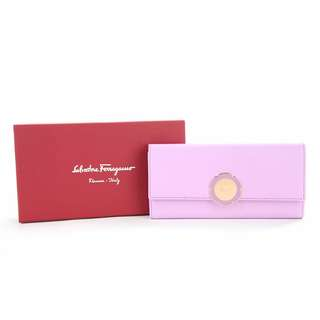 SALVATORE FERRAGAMO  Flower長款銀包