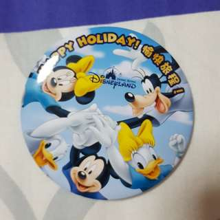 Hk Disneyland badge