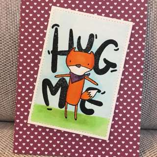 Handmade card suitable for any occasion