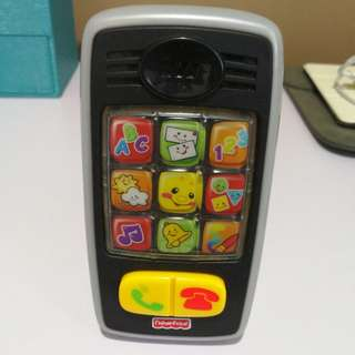 Fisher Price Smilin' Smart Phone Toy
