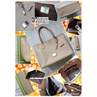 Braun Buffel Tote Bag