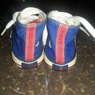 Converse Blue shoes