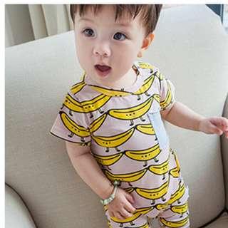 Banana Baby Romper