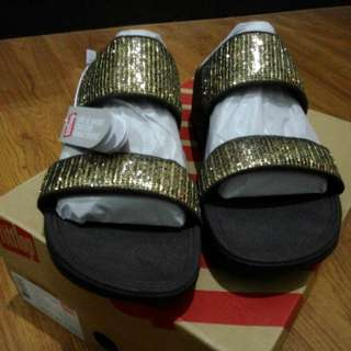Authentic Brand New Fitflop Superglitz Slide UK5