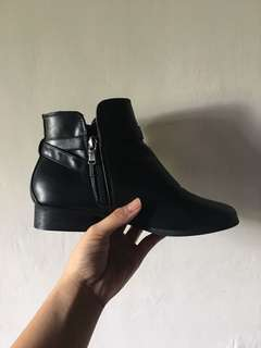 Red Tag Ankle Boots