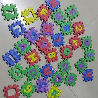 Assorted Letters and Alphabets Puzzles for Young Children
