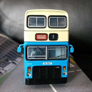 Csm Cmb中巴 丹尼士喝采巴士模型DS19 路線2號