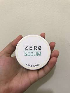 ETUDE HOUSE ZERO SEBUM EXP 2019