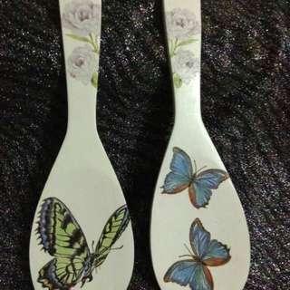 Wooden Spoon Decoupage