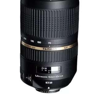 Tamron For Canon Lens