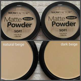 WOW Factor Matte Powder