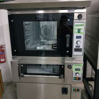 Convection oven , deck oven & proofer