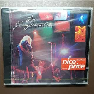 CD Artist: Johnny Winter Album: Johnny Winter Live