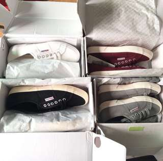 [Instocks with Free Delivery] Authentic Superga Cotu 2750