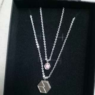 [Price reduced] EXO unofficial lay necklace