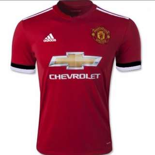 Authentic Man united 2017/18 home jersey