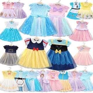 💯 % cotton princess costume dress
