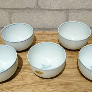 日本老茶碗杯、精美品、木箱