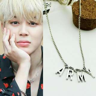 [READYSTOK] ARMY necklace