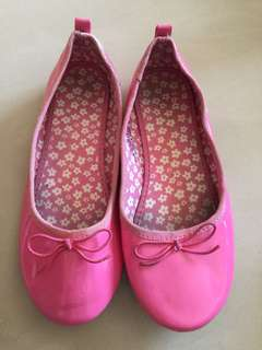 H&M pink shoe(size Europe 32)21cm