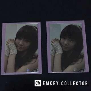 SNSD Tiffany Mr. Taxi photocards