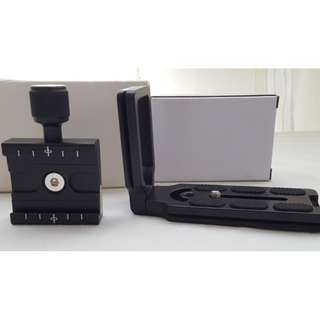 Arca-Swiss L-Bracket and Clamp set