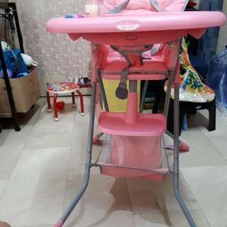 Baby co high chair slightly used