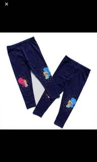 Instock now shimmer and shine legging one pc only for 4-5yrs old
