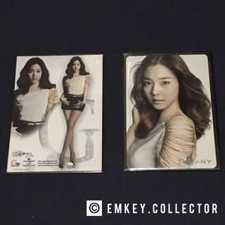 SNSD Tiffany Gee Korean ver photocard