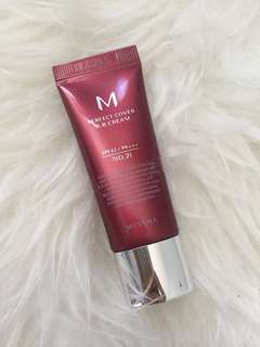 Missha BB cream SPF 42