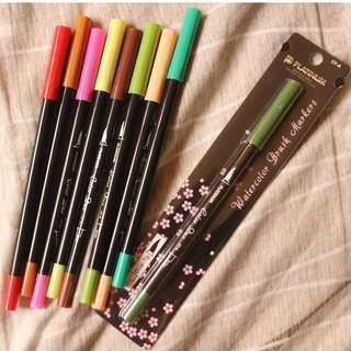 Assorted Brush Pens