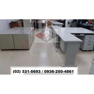 L-Shape-CD Series Office Desk With Cabinet_Office Partition