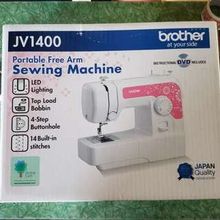 Brand New Brother JV1400 Sewing Machine