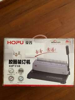Book binder Hopu HP 118