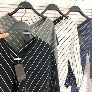 V-Top Zara Basic Striped