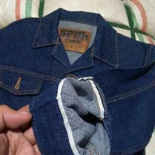 Trucker jeans selvedge