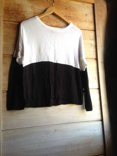F21 knitted sweater