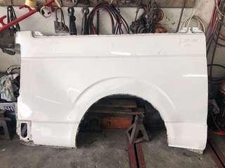Toyota Hiace rear mudguard RH