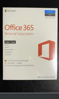 BN Office 365 Personal Subscription