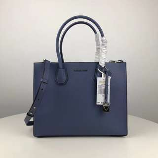 Michael Kors Mercer Tote Bag - greyish blue